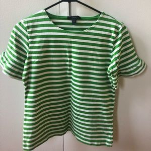 Wardrobe Clean-out J.Crew striped tshirt